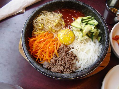 Bibimbap - Wikipedia  |Bap Korean Food